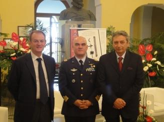 Sindaco-di-Sorrento-Giuseppe-Cuomo-Colonnello-Gianmarco-Bellini-Francesco-di-Domenico