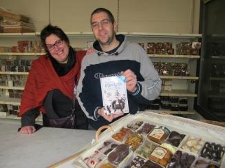 angie cafiero e Giovanni Iaccarino Deia prodotti artigianali piano di sorrento