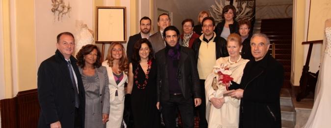 Il premio Idee Sposi 2012 allo stilista Giuseppe Tramontano
