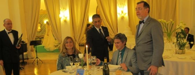 Ringraziamenti particolari a Daniela e Stefano per la loro preziosa disponibilità nell'evento curato dal Maestro di Bon Ton Alberto Presutti