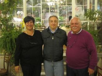 Tina Salvato moglie di  Enzo Manniello con Bruno De Stefano