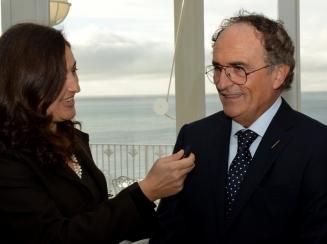 Giornalista Antonino Siniscalchi Carolina Ciampa