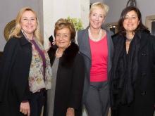 Ornella Scognamiglio Lidia Russo Grand Hotel Exgelsior Vittoria con la manager  Myra Petri Carolina Ciampa