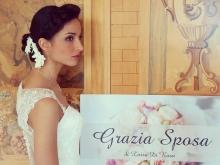 Claudia Attianese modella per Grazia Sposa Atelier