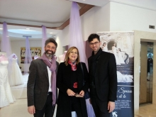 Salvatore D'Orsi con Patrizia Zuliani e Antonino Terminiello