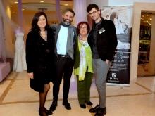 Carolina Ciampa con Salvatore D'orsi  e Lucia Cilento, Antonino Terminiello