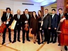 """Folk quartet"" con Gianluca Falasca, Domenico Salio, Maria Tramotano, Giacomo Buffa e Gianni Migliaccio Mario Generali"