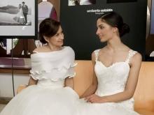 Modelle Stefania Oteri e Claudia Attianese