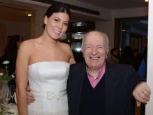 Abito Cherie Mode Vico Equense con Giovanna Stinga e il mitico Nino Casola