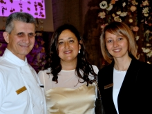 Vincenzo Galano Executive Chef Hilton Sorrento Palace Pinella Grieco